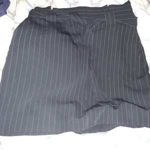 Pinstripe Mini Skirt LIKE NEW